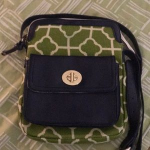 Spartina 449 Crossbody - Linen and Leather